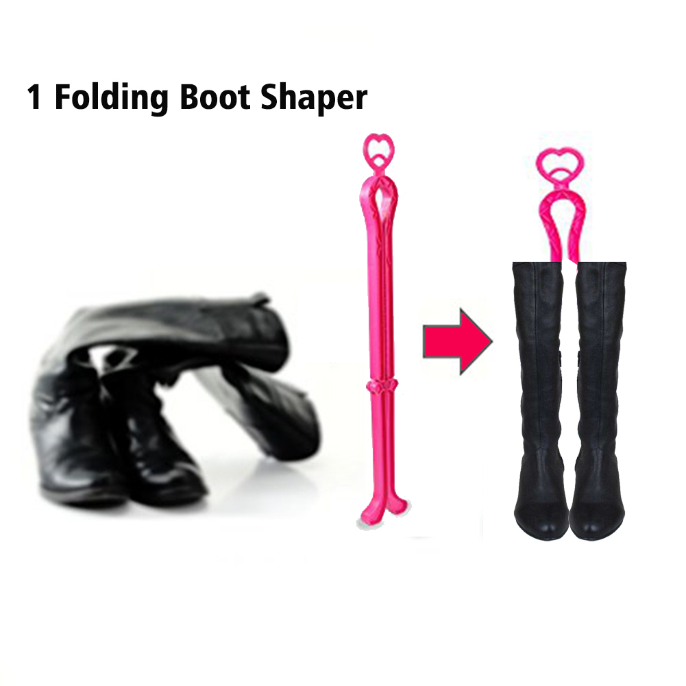 Shoe Stretcher Women Shoe Tree Widener, Pair of 4-way Adjustable Expander Stretch Length Width Height, Tough Plastic & Metal, 8 Bunion Plugs Included, Pink for Women's Shoes Size US 5.5-10